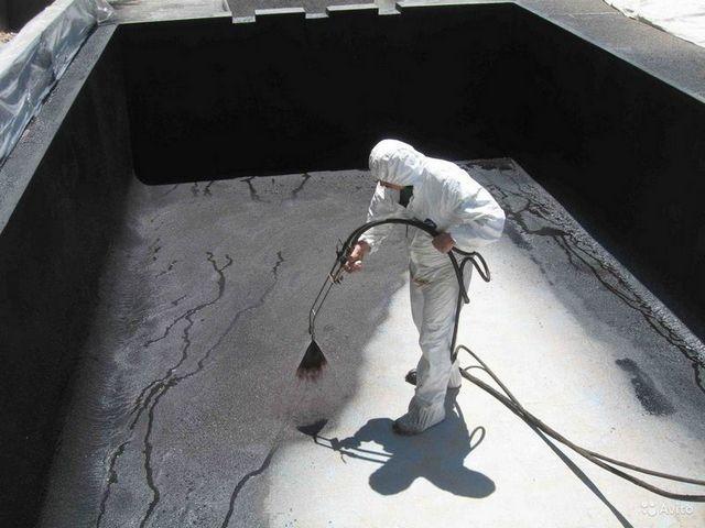 Гидроизоляция для пожарных резервуаров декоративный наливной пол
